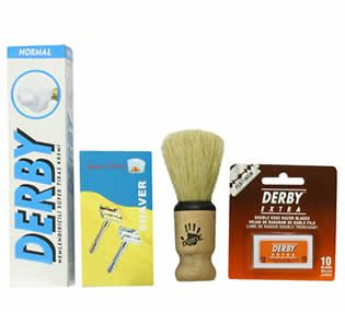 Shaving Factory SF318 Set de Afeitado para regalar en Navidad